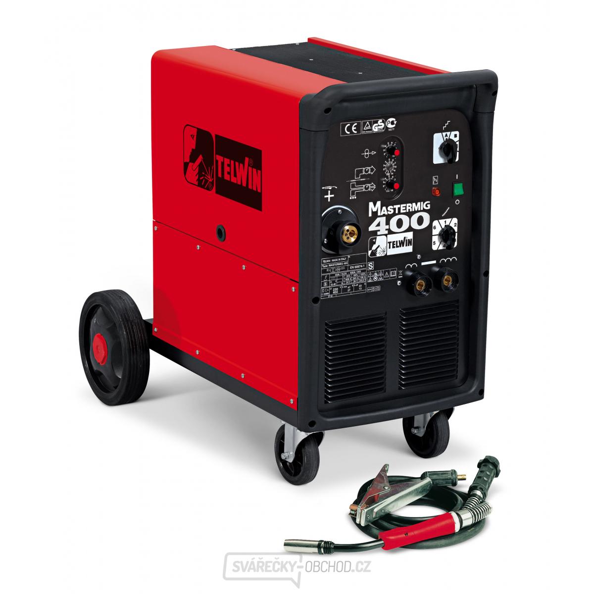 Svářečka CO2 - Mastermig 400 MIG-MAG