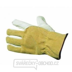 234a184d90b HERON WINTER - celokožené zimní pracovní rukavice velikost 9