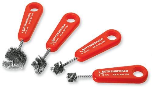 Rothenberger - kartáč na trubky 15mm